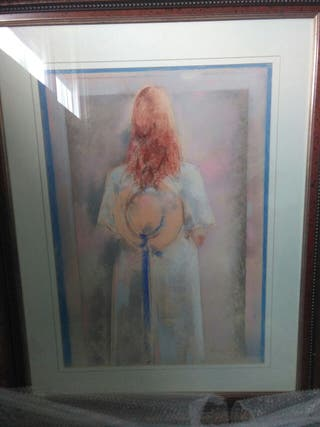 Obra de arte del gran pintor Quesada
