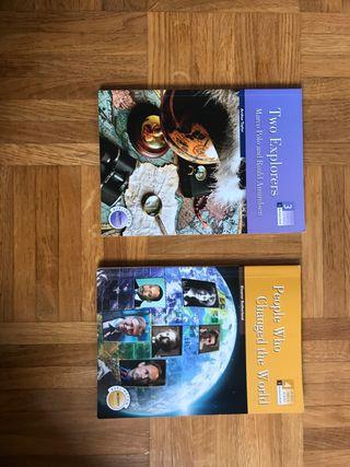 Dos libros en inglés
