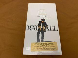 RAPHAEL TE LLEVO EN EL CORAZÓN 3 x cd + dvd