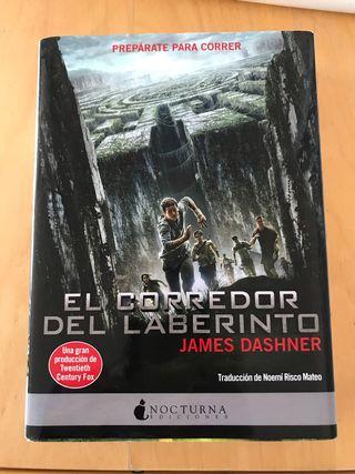 """Libro """"El corredor del laberinto"""""""