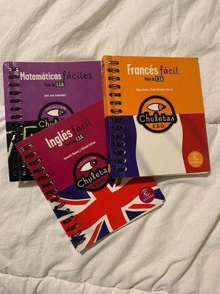 Libros para aprender fácil (curso ESO)