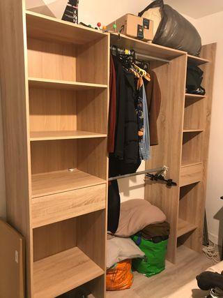 Deux armoire/dressing/penderie