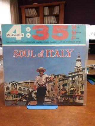 DISCO VINILO GIANNINI SOUL OF ITALY 62 MONO