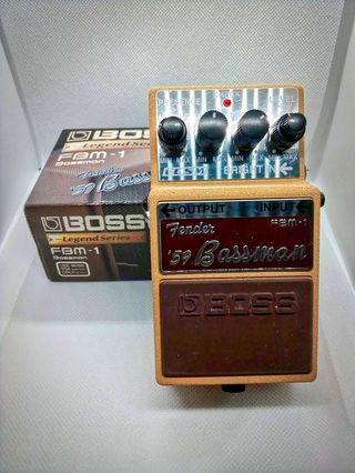 Pedal BOSS Fender Bassman ´59