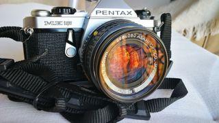 Pentax ME-super con 50mm 1,7 Pentax