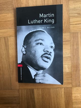 Libro en inglés: Martín Luther King