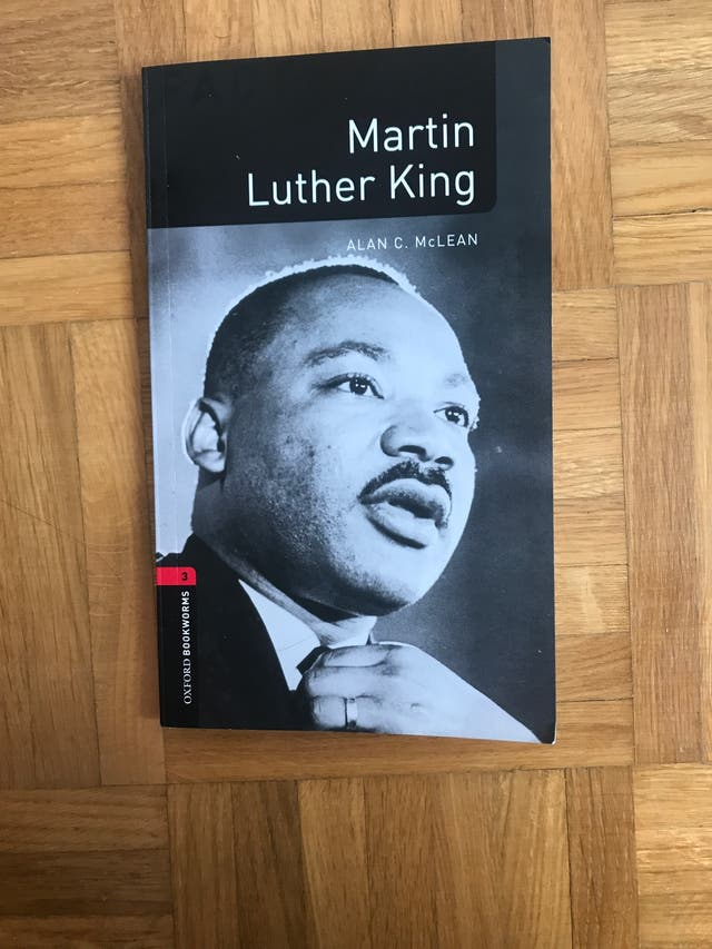 Libro en inglés: Martín Luther King