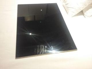 plafon con crital negro