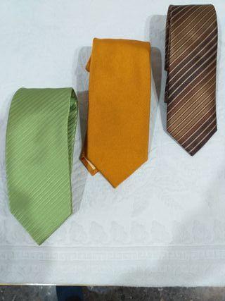 Corbatas de seda natural