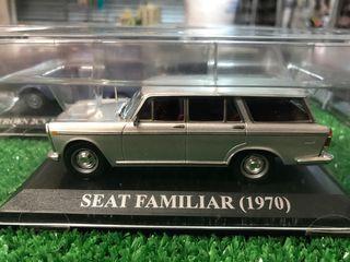 Maqueta SEAT FAMILIAR 1970