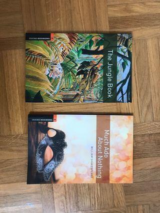 Dos libros en ingles