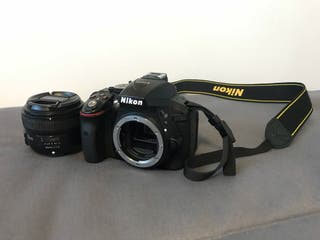 Nikon D5300 + 2 objetivos