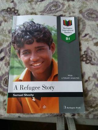 "Libro en inglés "" A refugee story"""