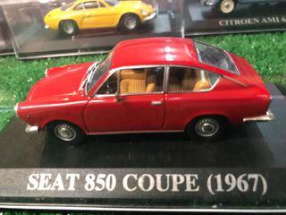 Maqueta SEAT 850 Coupe (1967)