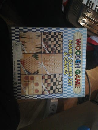 set de juegos de mesa
