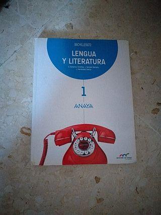lengua y literatura 1 bachillerato