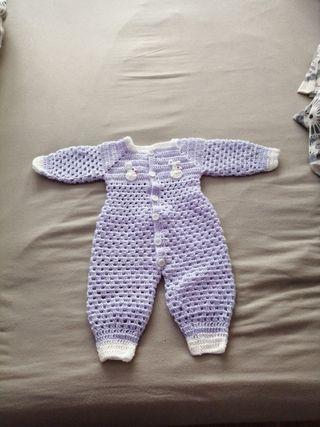 pelele para bebés de0 a 3 meses
