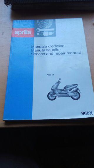 manual de taller Aprilia Area 51
