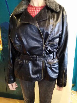 Cazadora de piel de cordero - vintage
