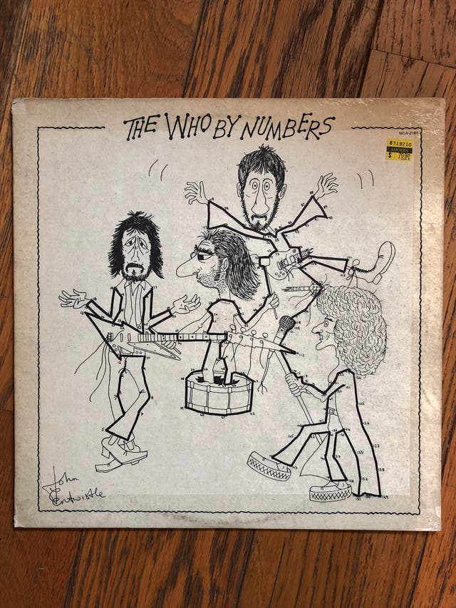 Vinilo LP. THE WHO -The Who by numbers-