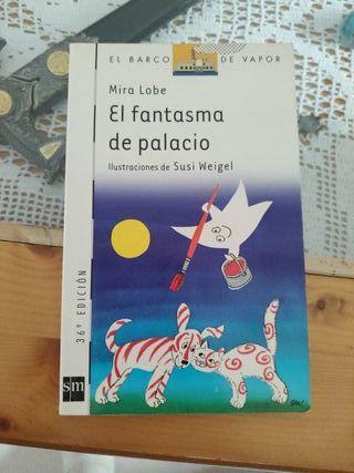 el fantasma de Palacio libro infantil