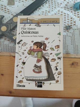 libro infantil quisicosas