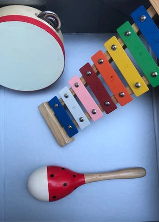 PACK OF 3 INSTRUMENTS FOR A BABIES.