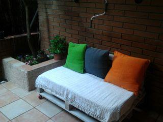 sofá de palés