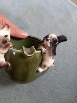 cenicero de porcelana