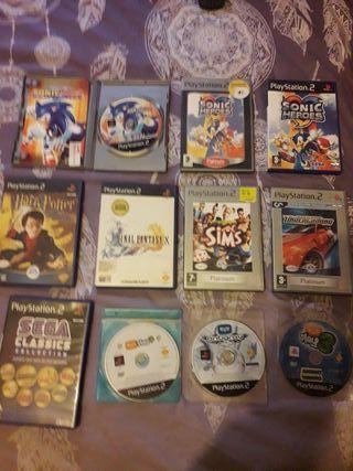 Juegos PS2 , juegos y consola Sega Megadrive