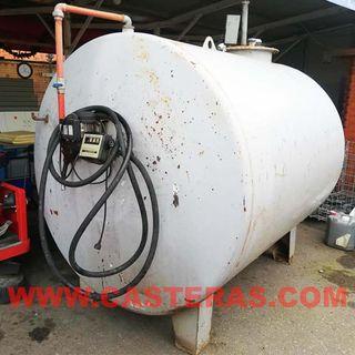 Depósito para carburante capacidad 4500 litros