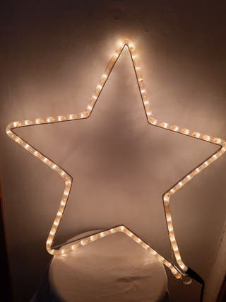 estrella de LED
