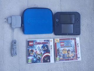 Nintendo 2DS impecable con muy poco uso