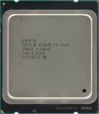 Intel Xeon E5-2609 2.4 Ghz 4 Núcleos. 2011
