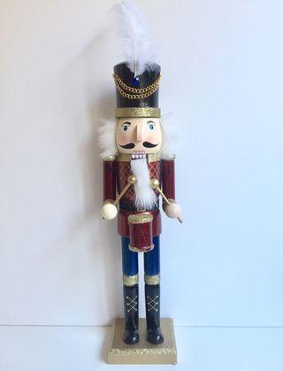 Muñeco soldado Cascanueces 38cm