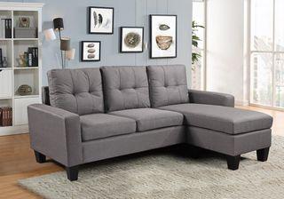 Sofá chaise-longue [YA6036] - 2