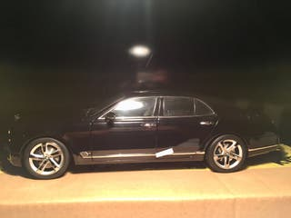 kyosho bentley maqueta coche escala 1:18