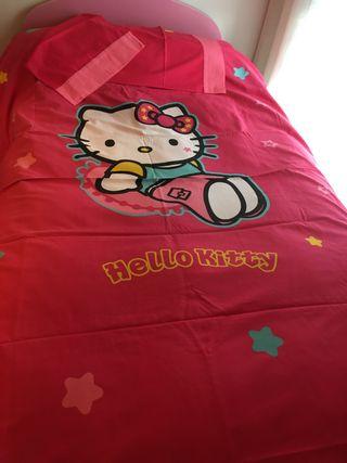Funda de edredón nórdico Hello Kitty