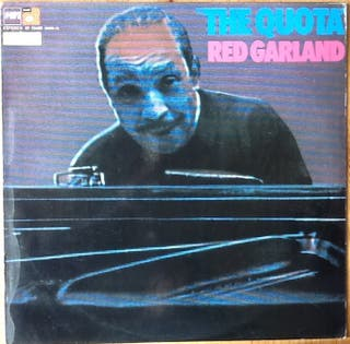 """RED GARLAND """"THE QUOTA"""" LP"""