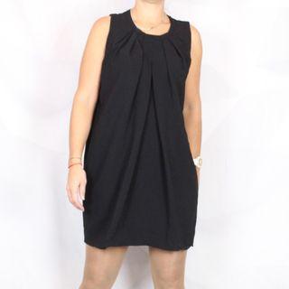 Vestido negro Atos Lombardini 46