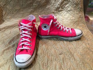 Zapatillas Converse AllStar unisex 41 neon