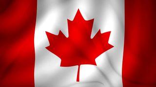 Bandera Canada 150cm x 90cm nueva de tela