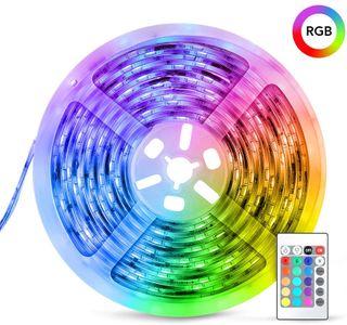 Tira LED decoracion de luces 5M RGB NUEVA