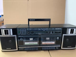 Pretina doble con radio Sony