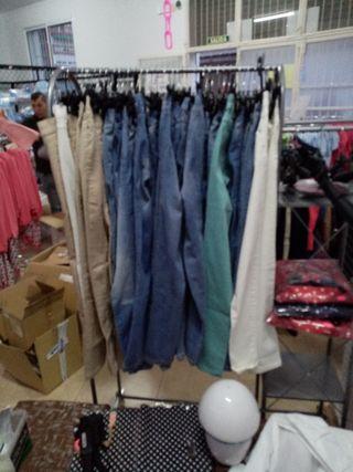 pantalones negociables 72 unidades buen precio