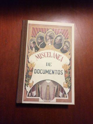 miscelanea de documentos