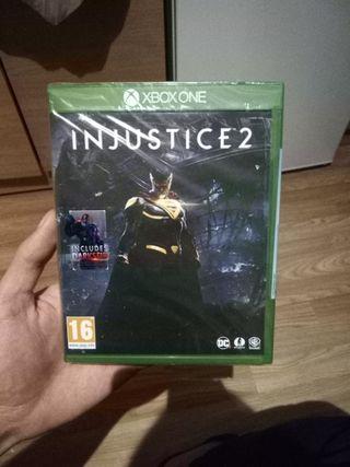 Injustice 2 x-box videogame new