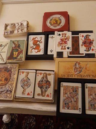cinco barajas de cartas fournier