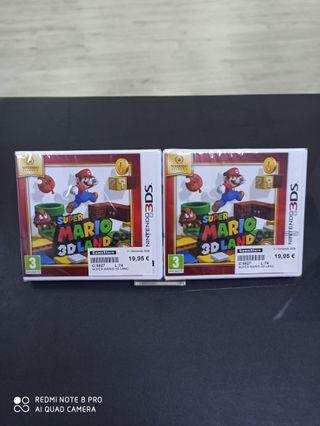 Super Mario 3D Land Nintendo 3DS nuevo precintado