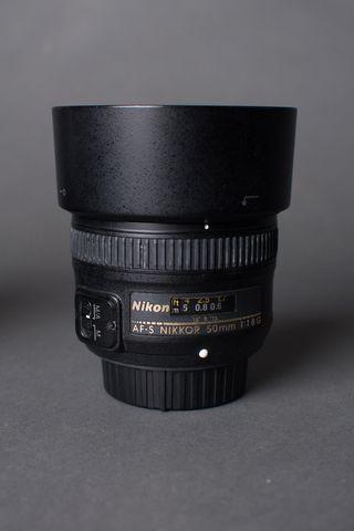 Objetivo 50mm 1.8 Nikon